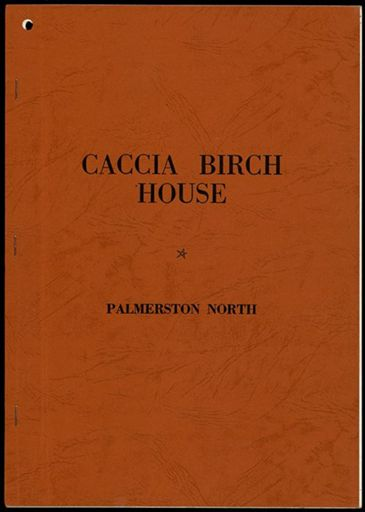 Booklet written by the Caccia Birch Preservation Society