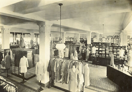 Women's wear department of the C M Ross Co department store