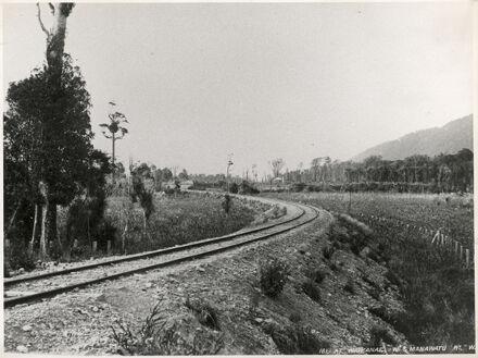 Wellington and Manawatu Railway Line at Waikanae