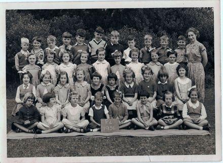 Russell Street Primary School, Primer 4, 1956