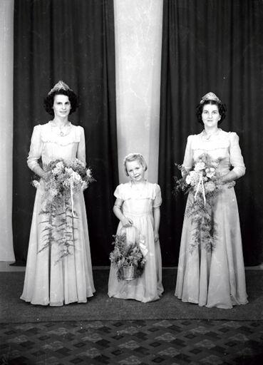 Milner Wedding – Bride, Bridemaid and Flowergirl