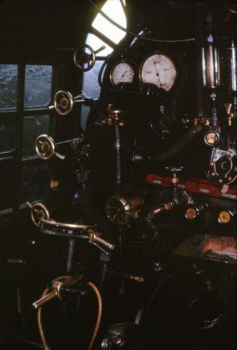KA Class Locomotive Cab