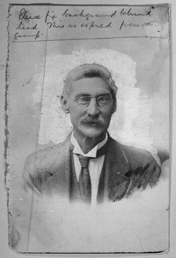 T.F. Fairbrother, headmaster of Terrace End School (1893-1922)