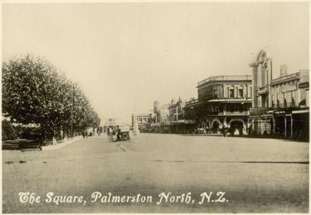 "Palmerston North Souvenir Photo Cards - ""The Square"""