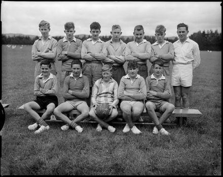 "A Team"" Correspondence School Football Teams"""