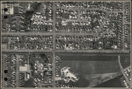 Aerial map, 1966 - J11
