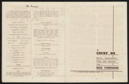 Peter Pan Programme, Palmerston North Opera House7