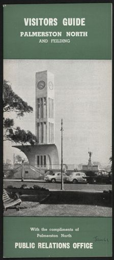 Visitors Guide Palmerston North and Feilding: January 1961