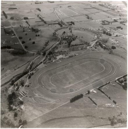 Awapuni Racecourse Aerial