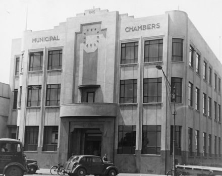 Municipal Chamber in The Square - 1950