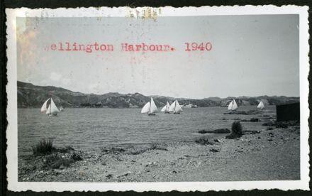 Wellington Harbour, 1940