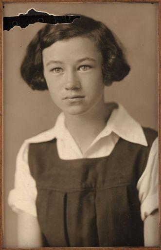 Molly Moore - Terrace End School Dux, 1932