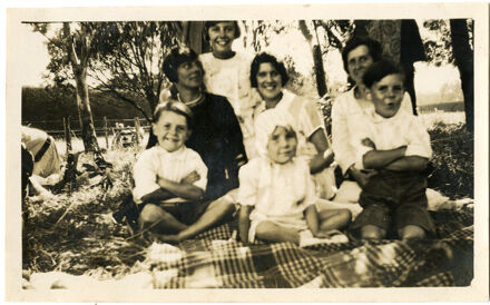 Andrews Collection: Picnic at Ashhurst Domain