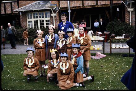 Girl Guides at Arahina training centre, Marton