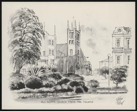 Palmerston North: A Portfolio of Six Sketches 3