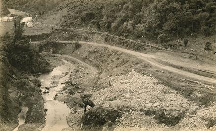 Access Road - Mangahao Electric Power Scheme