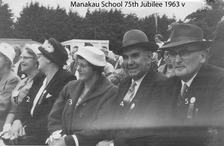 Manakau School 75th Jubilee 1963 v