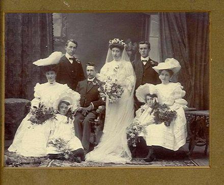 Wedding Portrait - unidentified group