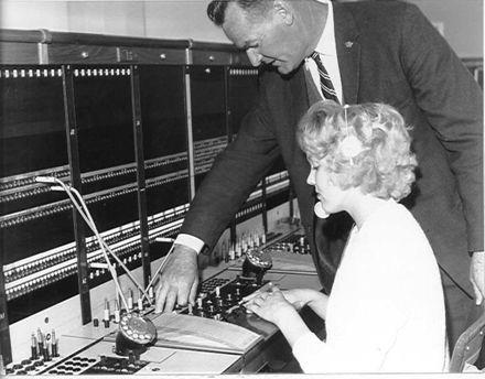 Levin Automatic Telephone Exchange, 1963