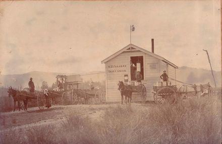 N.Z. Farmers Dairy Union Creamery, Shannon, 1899
