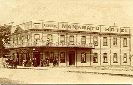 Manawatu Hotel, Foxton