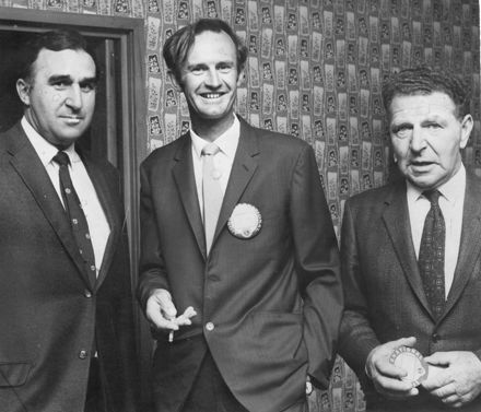 All Blacks coach & Lions Club members, 1970