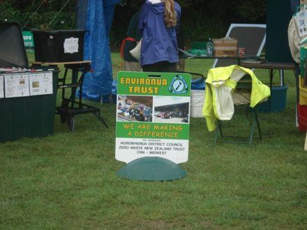 Environua Trust stall
