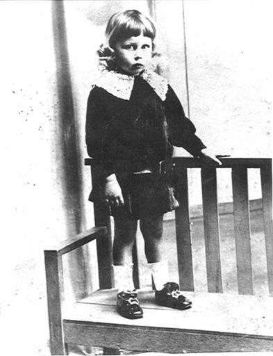 Francis Corrison Swanwick (age 6), 1916