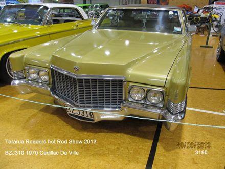 3180 BZJ310 1970 Cadillac De Ville