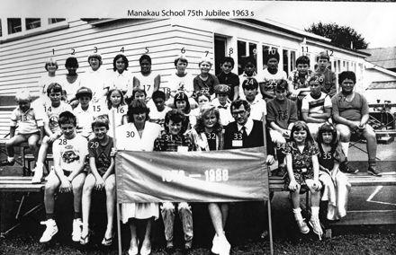 Manakau School 75th Jubilee 1963 s