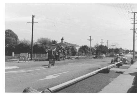 Laying Natural Gas Pipeline, Levin, 1970