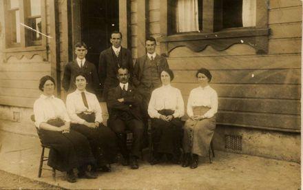 Foxton School Staff 1905