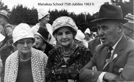 Manakau School 75th Jubilee 1963 h