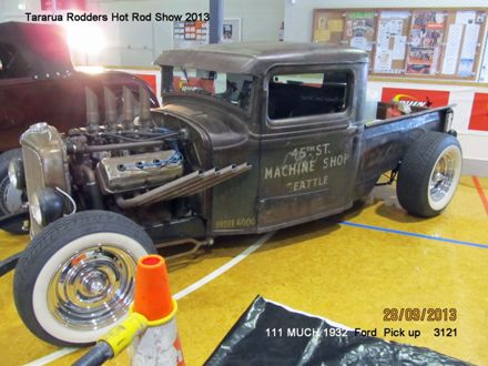 11 MUCH 1932 Ford Pick Up named 3121