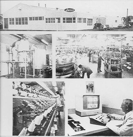 Levana Jersey Fabrics Ltd, Bristol St., Levin, c.1972