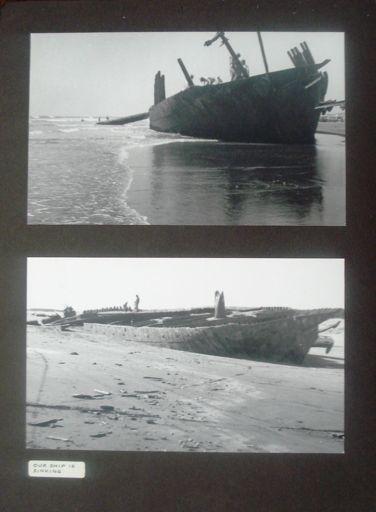 'Hydrabad' shipwreck, Waitarere Beach