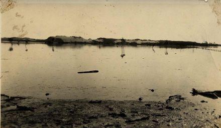 Manawatu River in Flood,  1914 or 1920