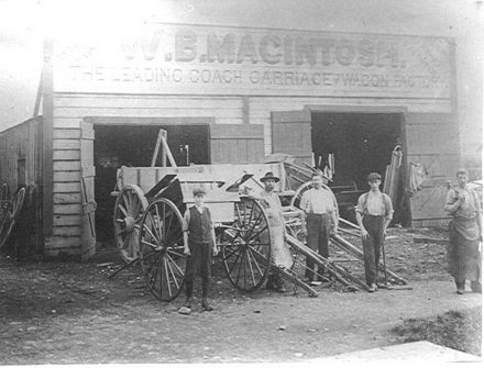 W.B.MacIntosh Coach, Carriage & Wagon Factory