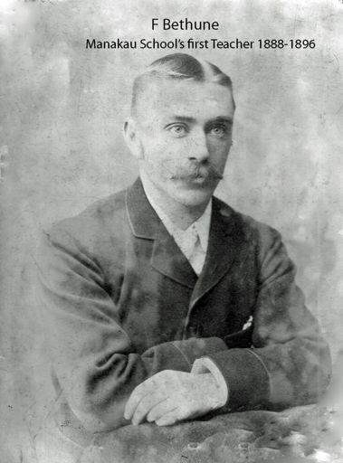Manakau School's First Teacher 1888-1896