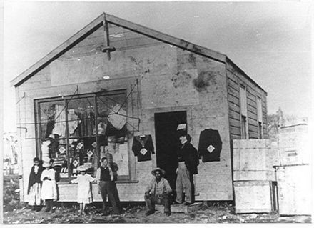 W.M. Clark's First Shop