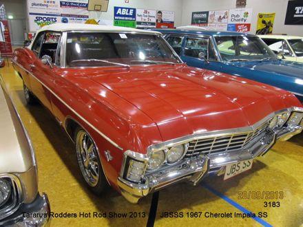 3183 JBSSS 1967 Chevrolet Impala SS