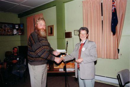 Foxton Rotary Club - Mr Farrell & Ms Paddison, 1980's-90's
