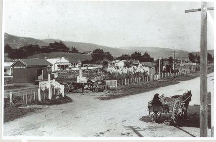 Manakau Settlement, (c.1900)