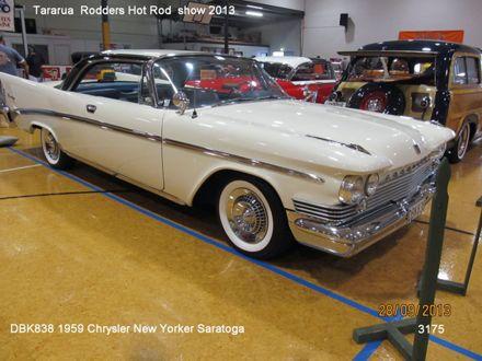 3175 DBK838 1959 Chrysler New Yorker Saratoga