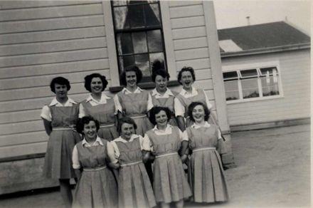 Shannon Basketball Team, mid 1950's