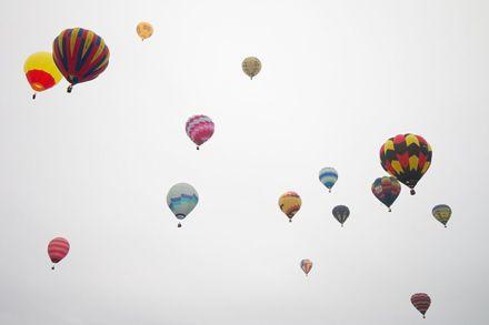 In Flight - Photo by Trevor Heath