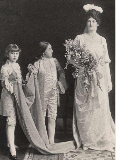Miss Jessie McKegg, Patriotic Queen Carnival, 1917
