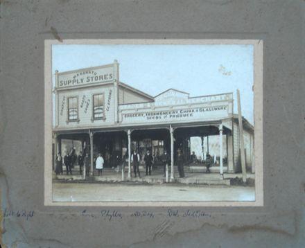 W.H. Gunning, Draper and General Merchant store