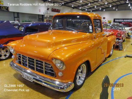 3177 GLZ866 1957 Chevrolet Pick Up