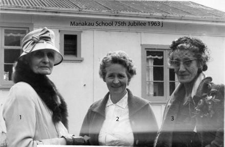 Manakau School 75th Jubilee 1963 j